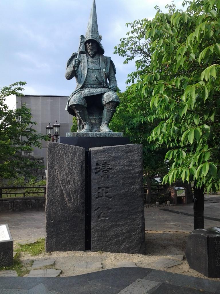 加藤清正像 熊本城