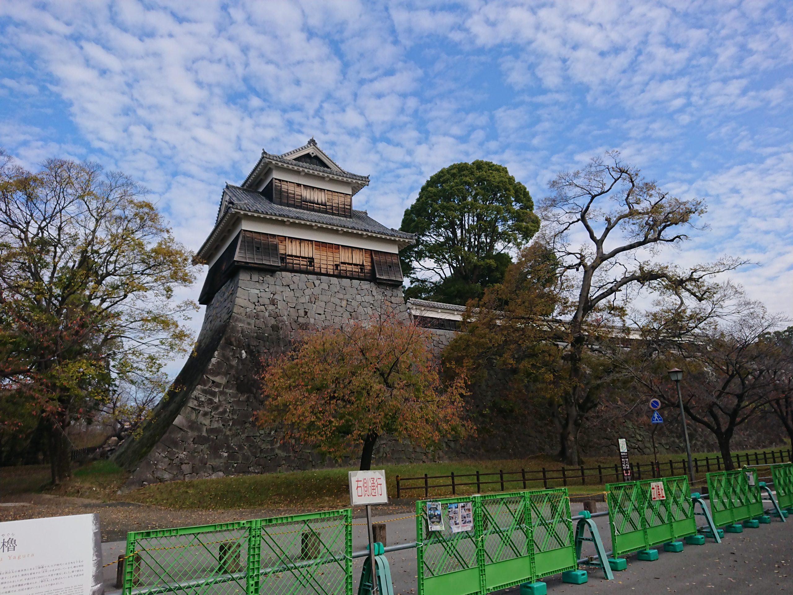 熊本城 櫓 石垣