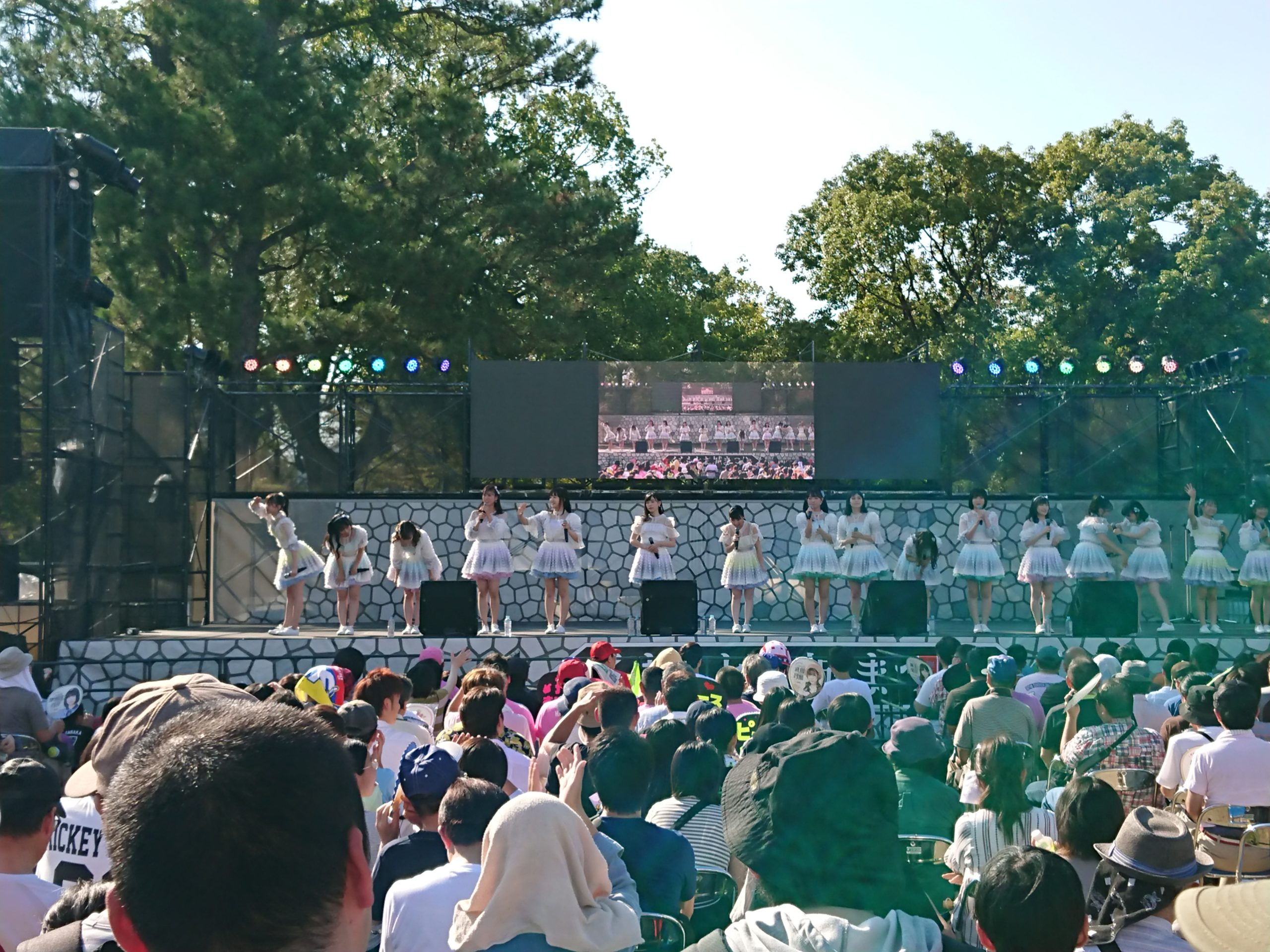 熊本城公園 二の丸広場