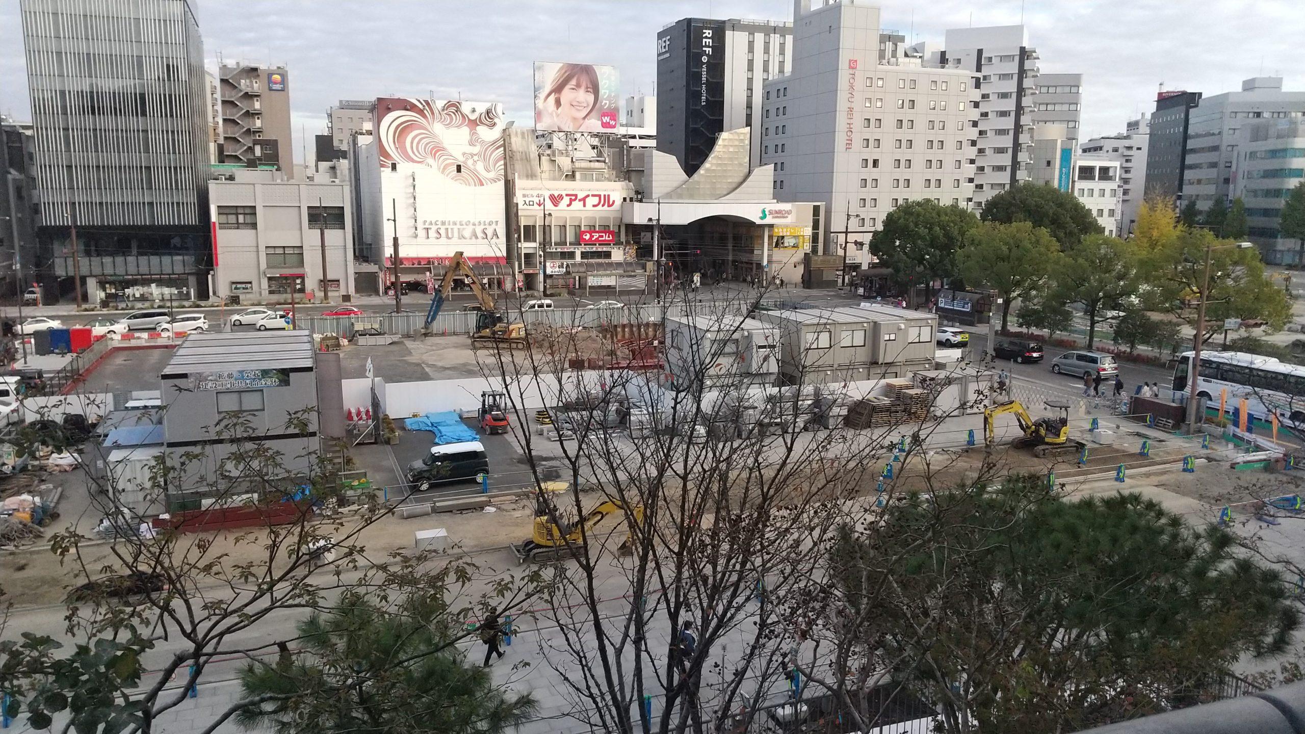熊本サクラマチ 展望