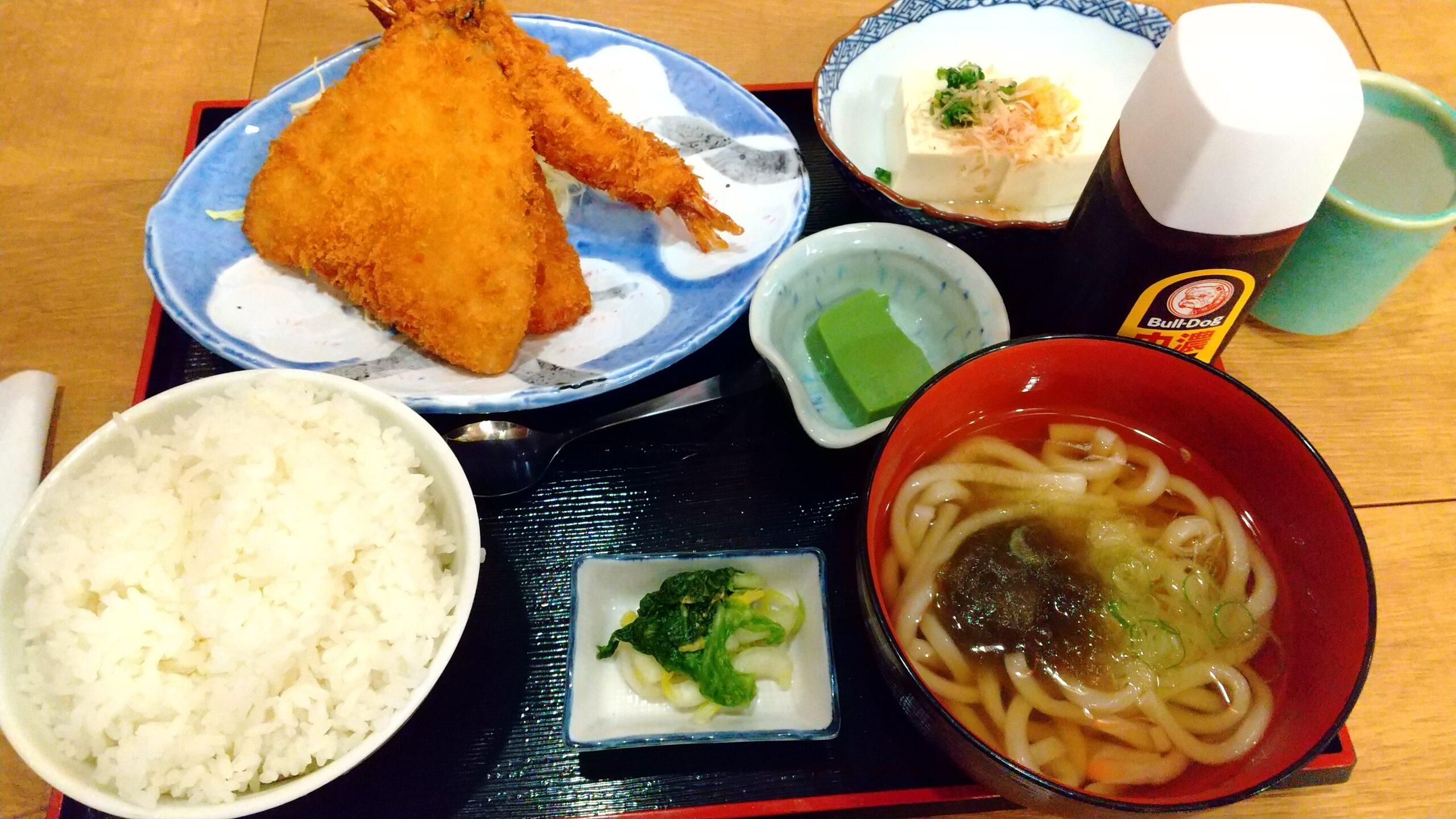 磯丸水産 海鮮ミックスフライ定食